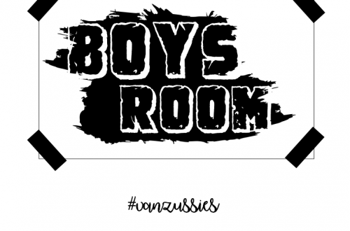 boys room free poster
