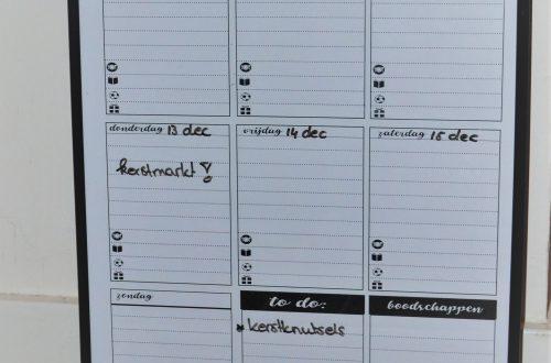 weekplanner gratis