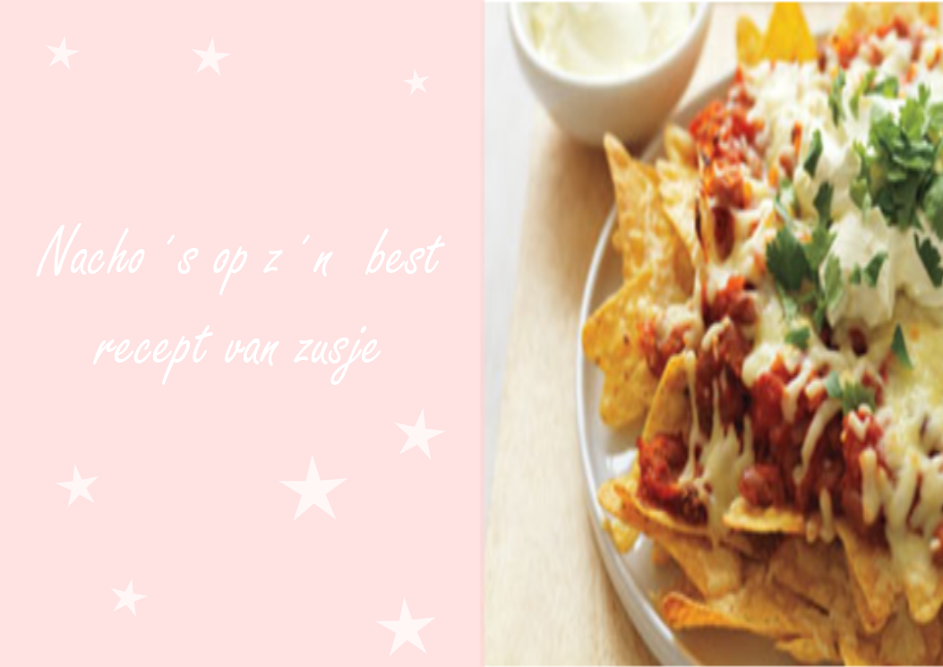 nacho uit de oven