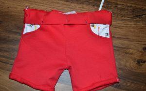 korte broek naaien