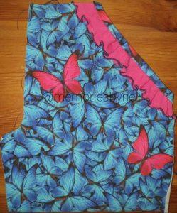 roezel aan broek naaien