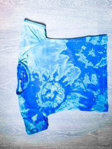 Tie-dye met bleek