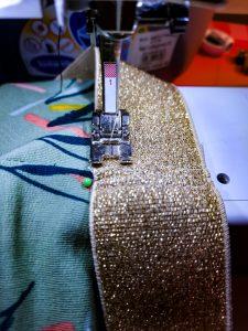 naaien van een rok