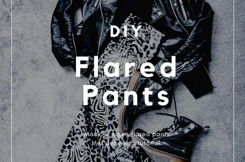 flared pants naaipatroon