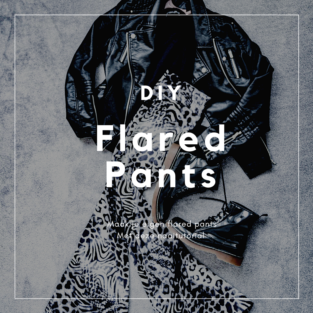 flared pants naaipatroon