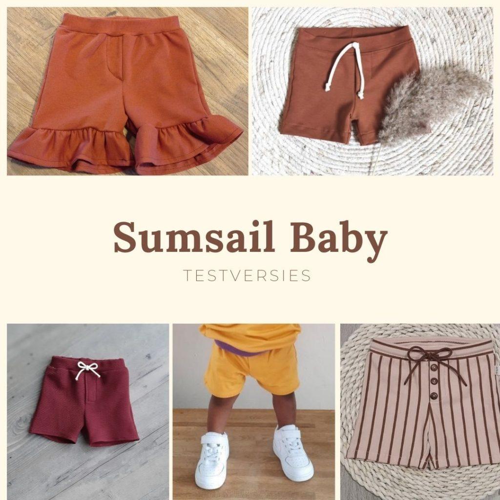 testversies sumsail baby