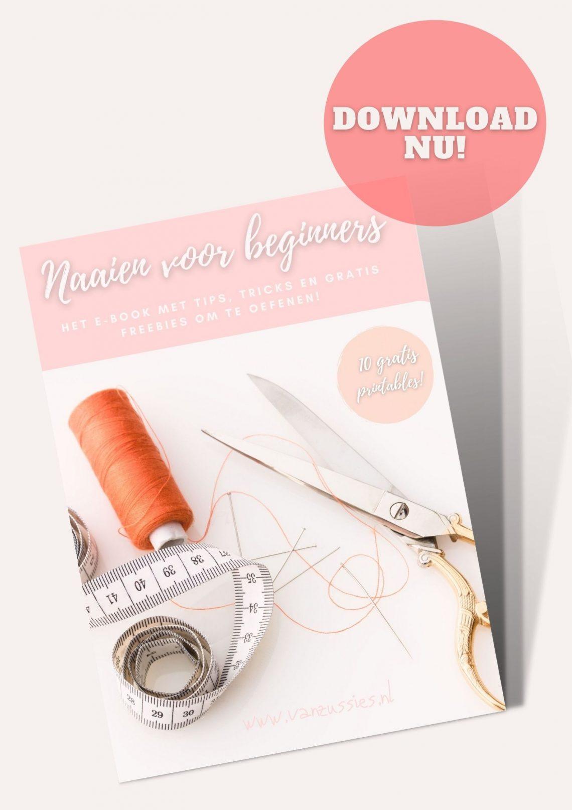 e-book naaien voor beginners